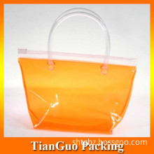 Solid Colored PVC Piping Bag for Shopping (TG-11SH)