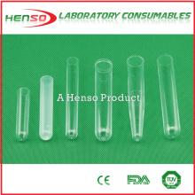 Tubo de teste de plástico Henso