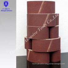 narrow zirconia aluminum oxide sanding belt for stainless steel