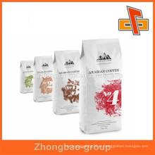 Bolsas de café de papel kraft blanco fabricadas en chiina