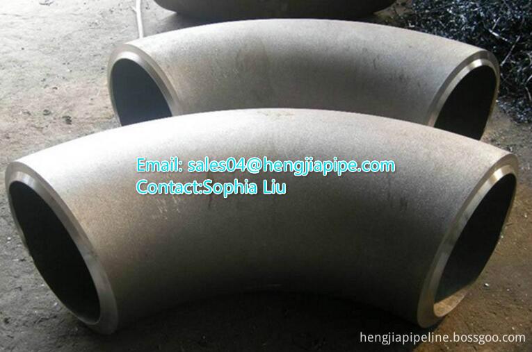 steel pipe butt weld elbow