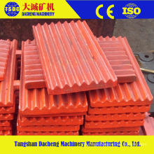 High Manganese Steel Casting Crusher Jaw Plate