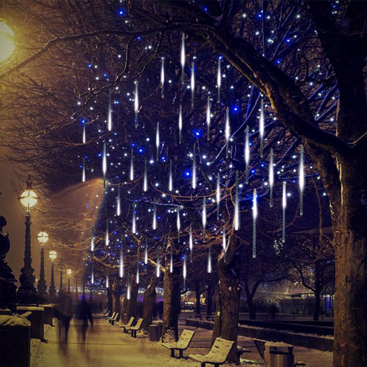 warm white led icicle light