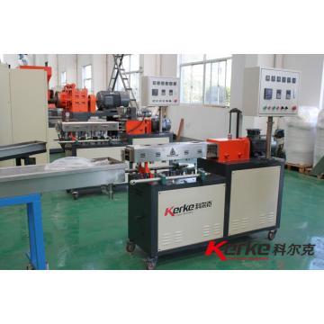3~15kg/h lab equipment twin screw plastic granulator