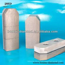 Resina de diamante de pulido de pulido Fickert para varios de hormigón