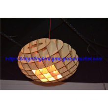 Modern new design wood pendant lamps for indoor decoration