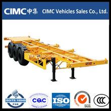 Cimc 40FT 40t Skeleton Container Semi Trailer