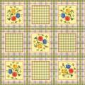 Cubierta de tabla impresa PVC colorido popular caliente del diseño con el forro de la tela
