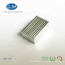 Блок магниты, используемые в сумочке, промышленной зоне и электроникой