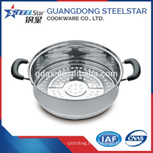 Kitchen stainless steel dim sum steamer