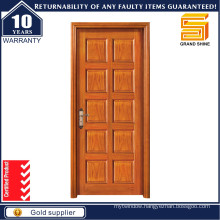 Entrance Wooden Door Fire Timber Door for Apartment and Villa
