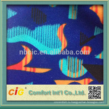 Мода печать трикотажные ткани для автокресла