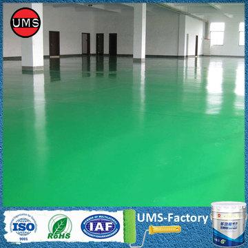 Polyurea coating primer durability for floor