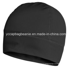 100% Polyester Spandex Dry Fit Beanie with Fleece