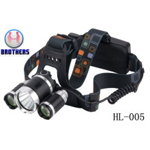 Camping Outdoor Bright White LED Headlamp (HL-005)