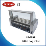Ce approved Stainless steel hot dog roller grill machine