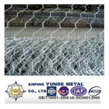 Malla de alambre hexagonal revestida galvanizada / del PVC / red de alambre del ganado