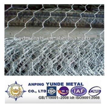 Гальванизированный/PVC покрыл Шестиугольную ячеистую сеть /скот плетение провода