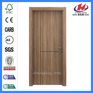 JHK-FC02 Klassische Tür aus Naturfurnier Holz