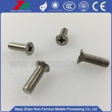 China for Industrial Molybdenum Screw Molybdenum flat phillips bolt for sale export to Cameroon Manufacturers