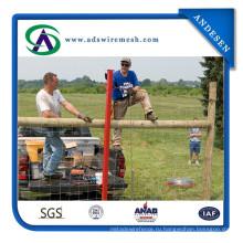 2,5 мм / 2,0 мм Полевой забор / Забор крупного рогатого скота Цинковое покрытие 200-250G / M2