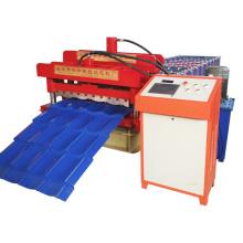 Máquina de tejas esmaltadas de corrugación para la formación de rollos de techo