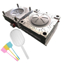 custom shell molding household mold maker precision injection plastic mosquito racket moulds