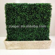 Parede / cerca artificiais decorativas da grama com preço de fábrica