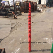 Galvanizing Helix Ground Screw Pile/ Screw Pile