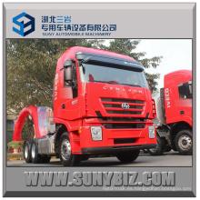 390HP Camión principal de la cabeza del alimentador de Iveco Hongyan 6X4 del motor Iveco