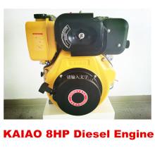 Motor a diesel refrigerado a ar 8HP / 6,3 kw com CE ISO BV SGS