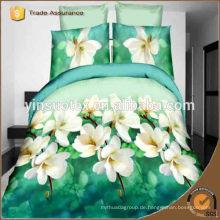 Usbekistan Blumen gedruckt Bettwäsche gesetzt