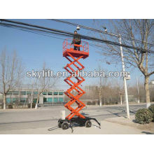 12m movable hydraulic lift machine