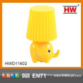 Safety Lovely Cartoon Soft Night Light For Kids 4Colors Pink/ Yellow/ Blue/ Green