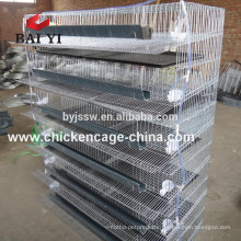 BAIYI Factory Hot Sale Wire Mesh Quail Cells With Automatic Waterer