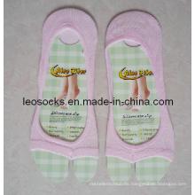 Unsichtbare socken Zehensocken, Anti-Rutsch-Socken, Fisch-Mund-Socken für Frauen