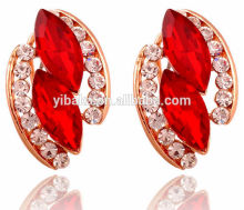 New Cheap Jewelry Lovely Created Crystal Gemstone Brand Stud Earrings for Women