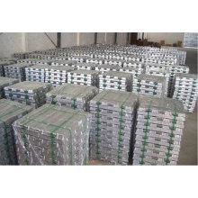 Lingote de alumínio de 99,9% de alta qualidade