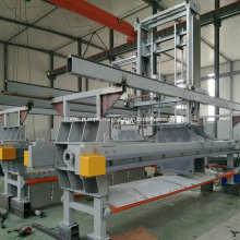 Self Cleaning Low Pressure Membrane Filter Press