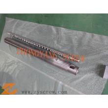 Type de cannelure barillet de vis pour la machine à grande vitesse d'extrudeuse de soufflage de film