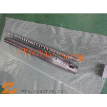 Groove Type Screw Barrel for High Speed Film Blowing Extruder Machine