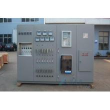 Sistema de análise de amostras de vapor e água
