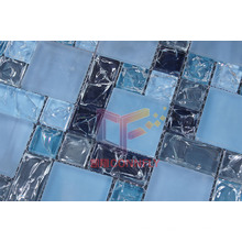 Cracked Blue Crystal Mosaic (CC186)