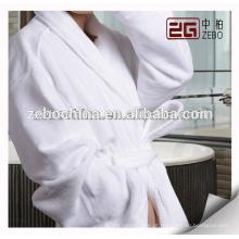 Fábrica de fornecimento de toalha de tecido cortado estilo Velour barato de banho de algodão