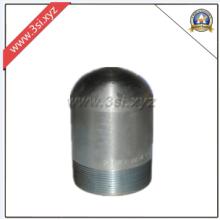 Tapas roscadas de la tubería de acero al carbono (YZF-PZ114)