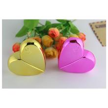 Bouteilles de verre en forme de coeur pour parfum
