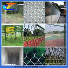 Galvanized and PVC Coated Chain Link Fencing for Stadium (CT-1)