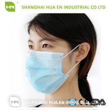 2016 Fabricante Price Anti Smoking Descartável Non Woven Face Mouth Mask