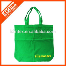 Promotion customized printed shopping canvas bag