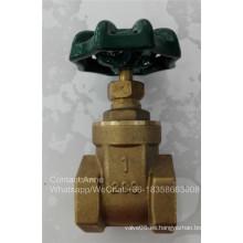 Válvula de control de compuerta de latón Sanwa (YD-3006)